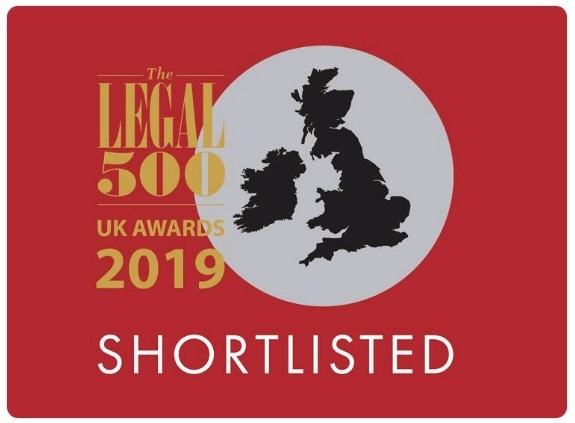 Clifton Ingram shortlisted for The Legal 500 UK Law Firm of the Year