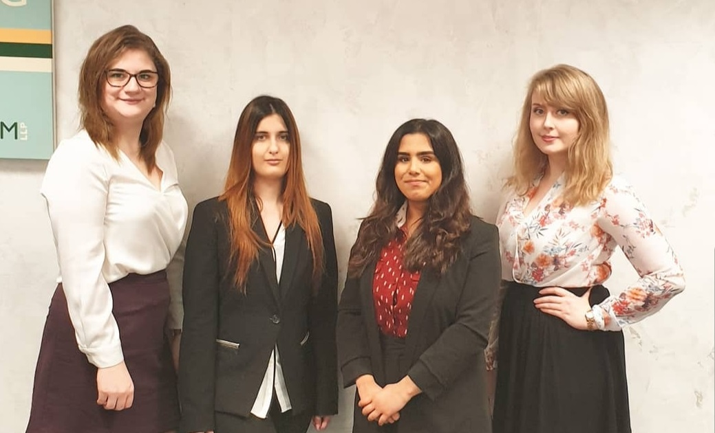 New Paralegals join Clifton Ingram