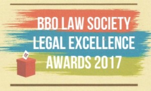 Double Finalists for the BBO Law Society Awards